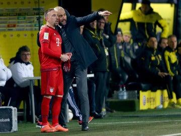 Ribery ataca a Guardiola