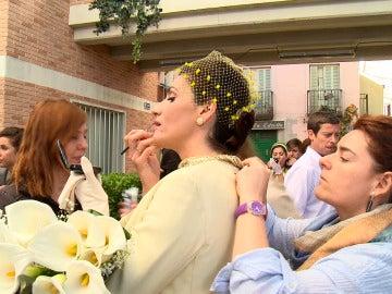 Making de la boda de Adela y Tomás