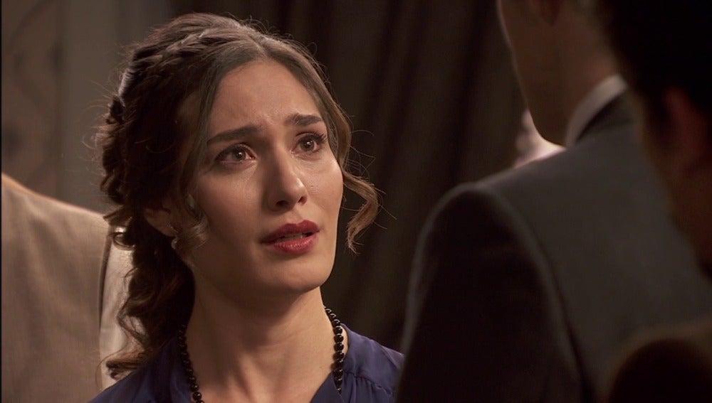 Camila destrozada tras conocer la decisión del juez