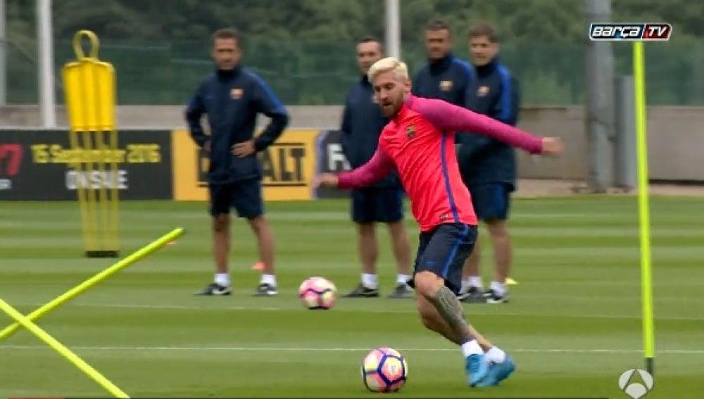 Así prepara Leo Messi la pretemporada