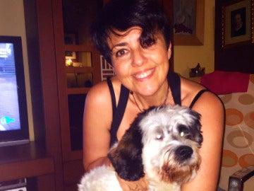 Una internauta comparte la foto con su mascota con el hashtag #YoSíPuedoContarlo.
