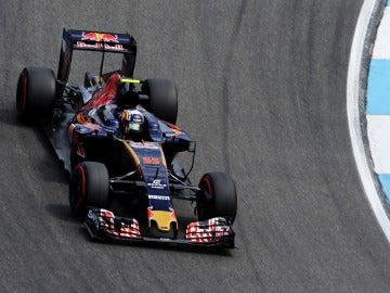 Carlos Sainz, durante el GP de Alemania