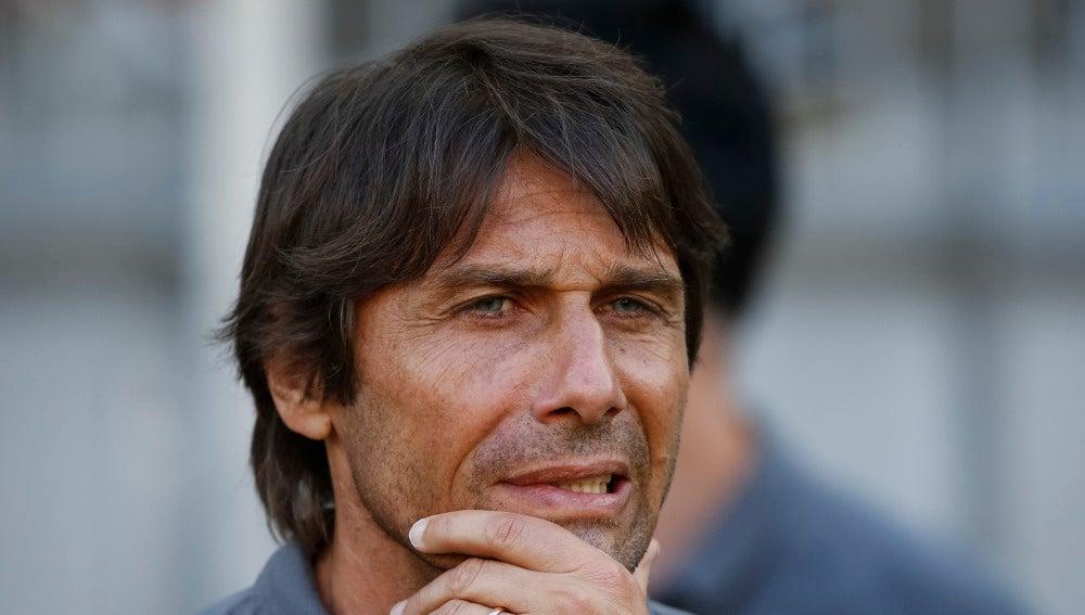 Antonio Conte, de pretemporada con el Chelsea