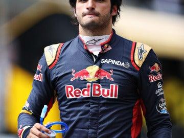Carlos Sainz terminó 14º en Hockenheim