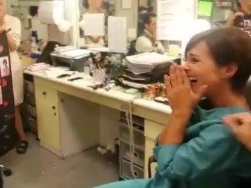 La sorpresa fin de rodaje que emociona a Paula Echevarría