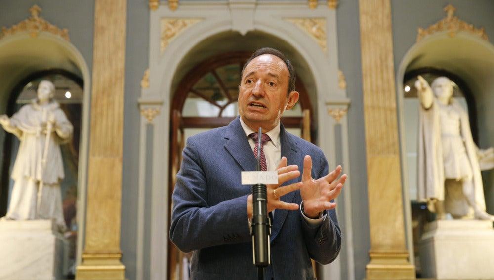 Pedro Sanz, presidente del PP de La Rioja