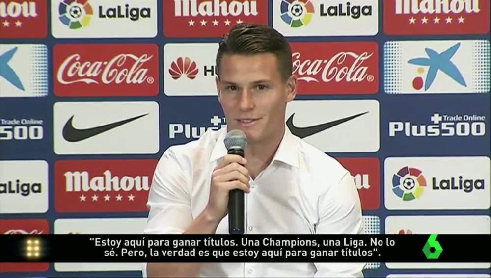 Gameiro, presentado como jugador del Atlético