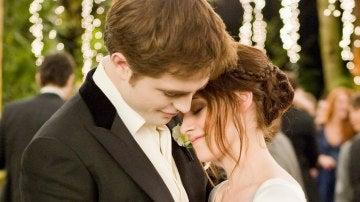 Bella y Edward en 'Crepúsculo'