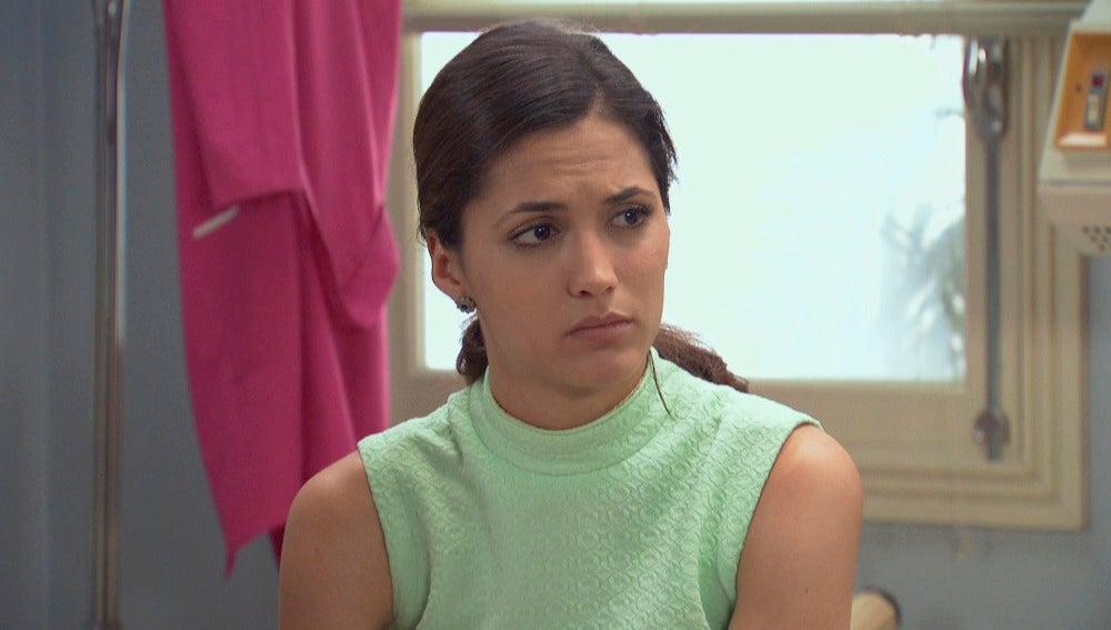 Sofía preocupada por la operación