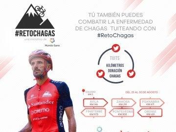 Chema Martínez participa en el #RetoChagas