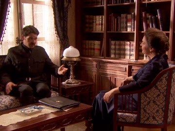 Garrigues comienza a trabajar para Francisca