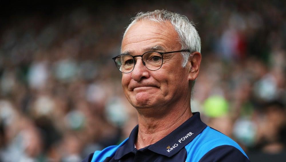 Claudio Ranieri, preparado para el partido de la Community Shield