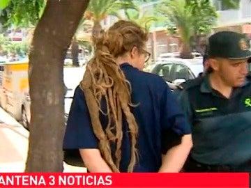 Imágenes en exclusiva del presunto autor del incendio de La Palma