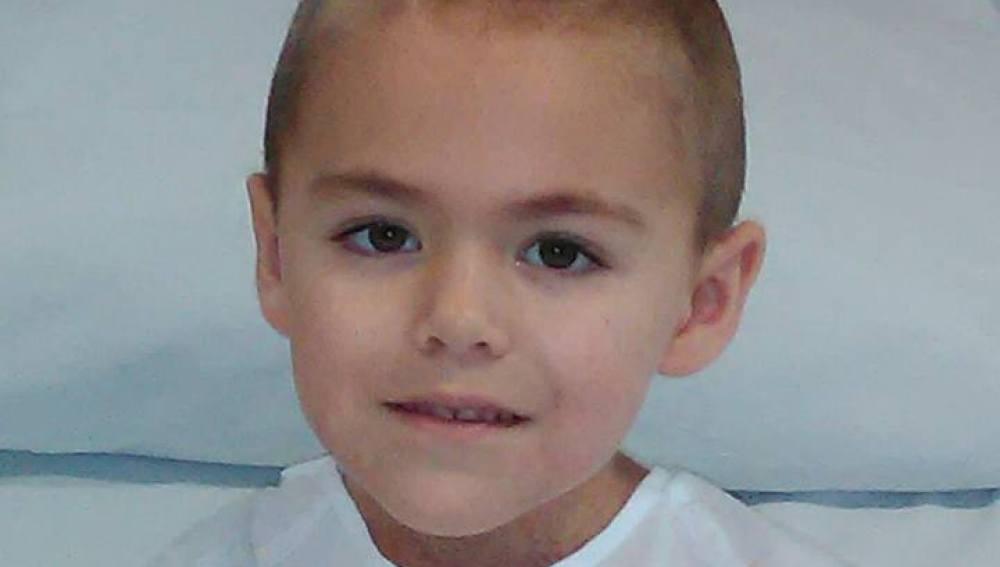 Jaime, niño con leucemia