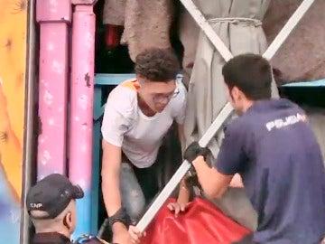 Inmigrantes en Algeciras