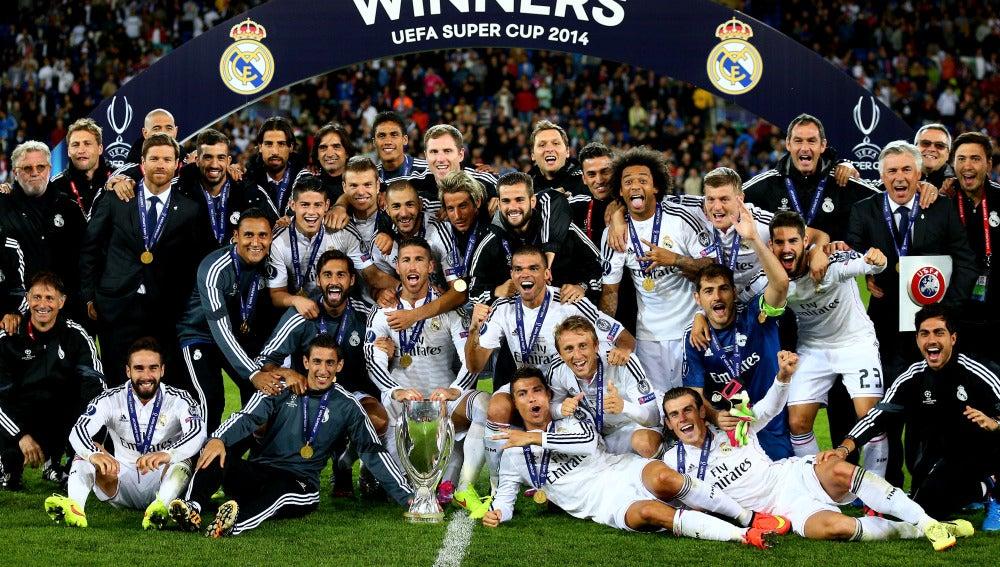 El Real Madrid venció al Sevilla en la final de 2014 en Cardiff