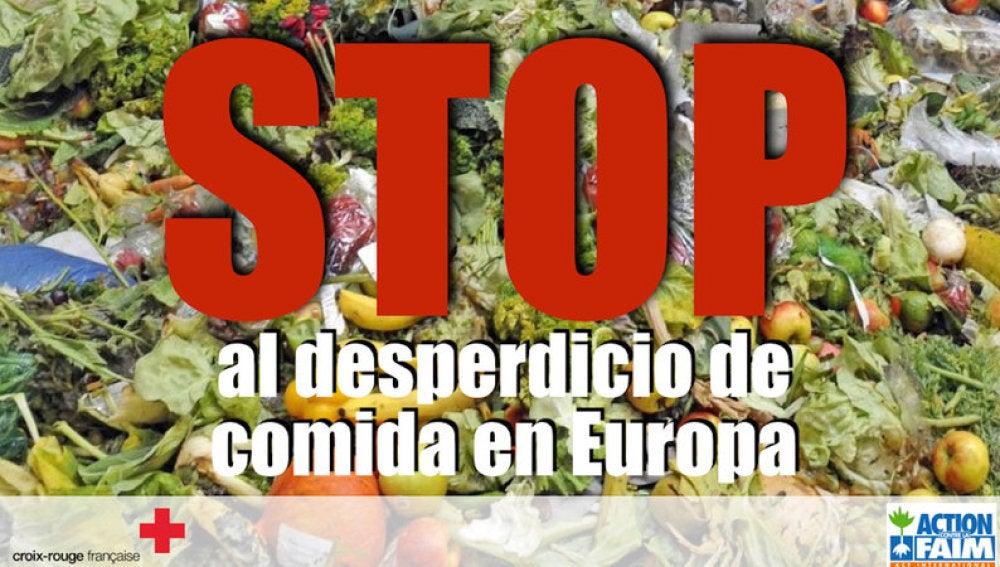 """Campaña contra el """"desperdicio"""" de alimentos en Europa"""