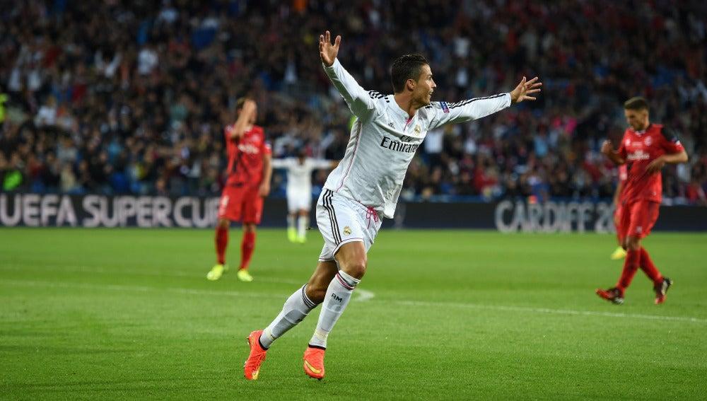 El Real Madrid se impuso frente al Sevilla en la Supercopa de Cardiff