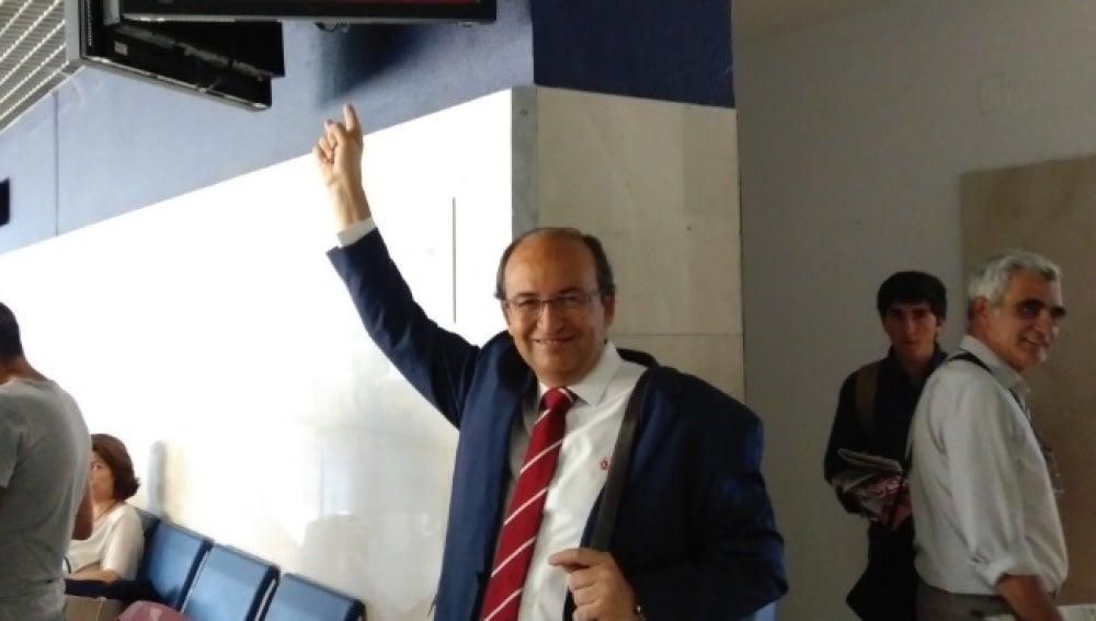 Pepe Castro, antes de partir rumbo a Noruega