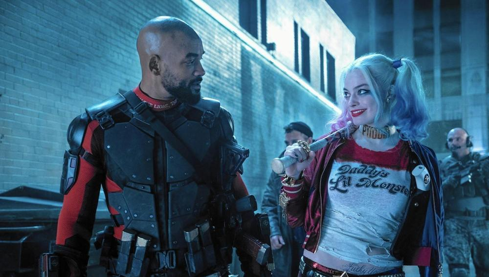 Will Smith y Margot Robbie en 'Escuadrón Suicida'