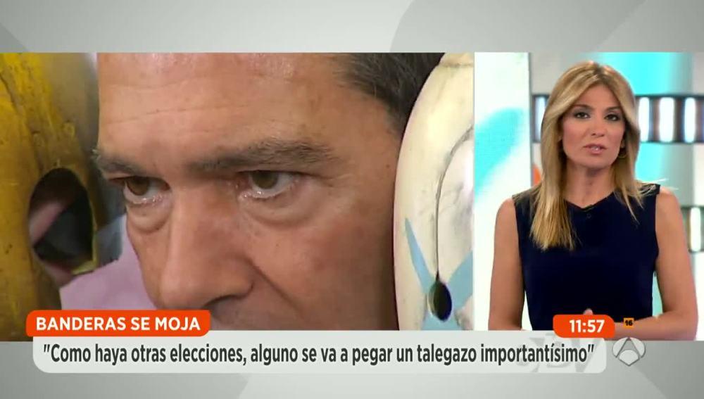 Banderas pide al PSOE que se abstenga y pase a la oposición