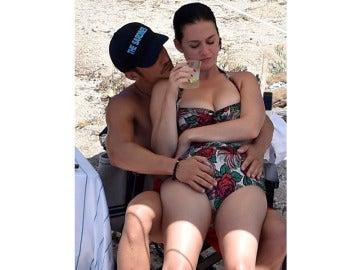 Katy Perry y Orlando Bloom disfrutan en Cerdeña