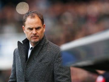 Frank de Boer, técnico del Inter de Milán