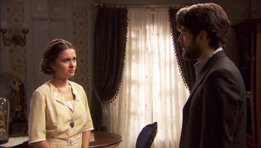 Beatriz, su reencuentro con su padre