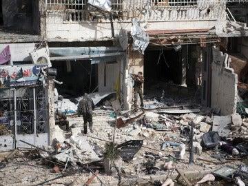 El conflicto continúa en Alepo y ya hay más de dos millones de civiles atrapados en el asedio