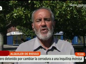 Andrés, casero detenido
