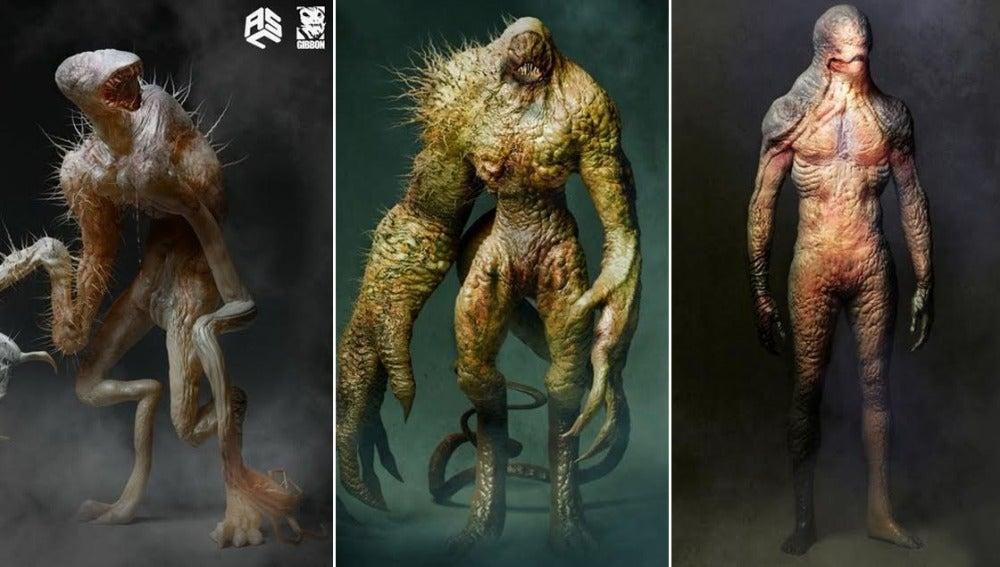 Otras versiones del 'Demogorgon' de 'Stranger Things'