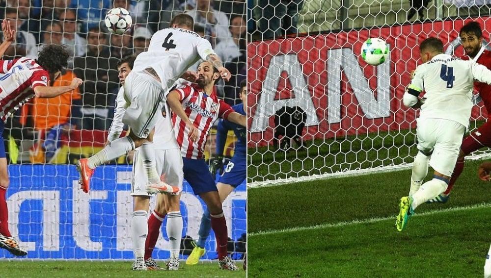El gol de Ramos en Lisboa y el tanto del central en Noruega