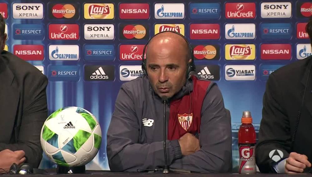 Sampaoli, orgullo del Sevilla en la Supercopa de Europa