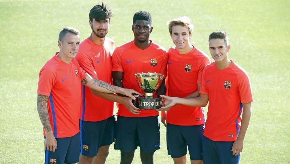 Las nuevas caras del Barcelona
