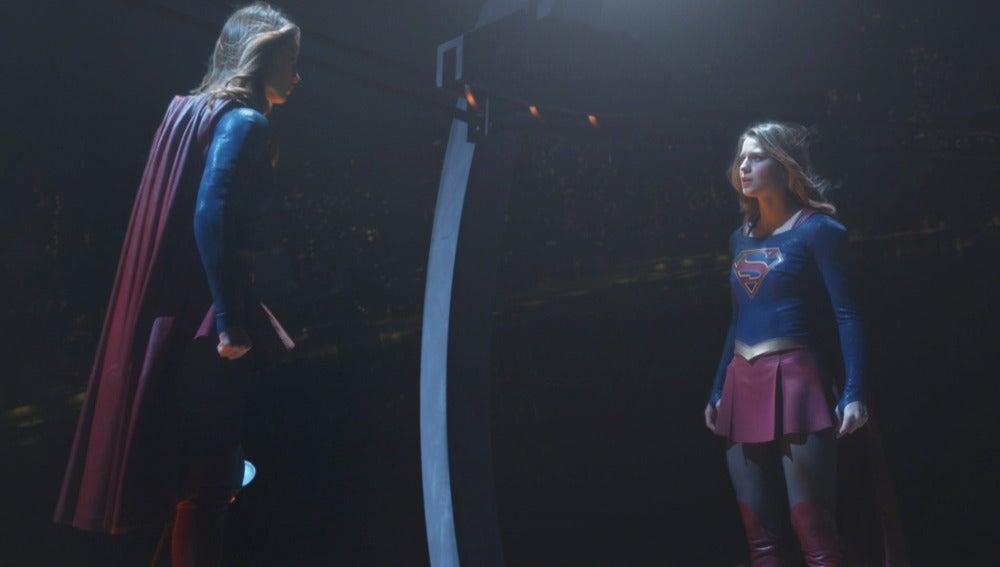 "Supergirl vs ""New"" Supergirl"