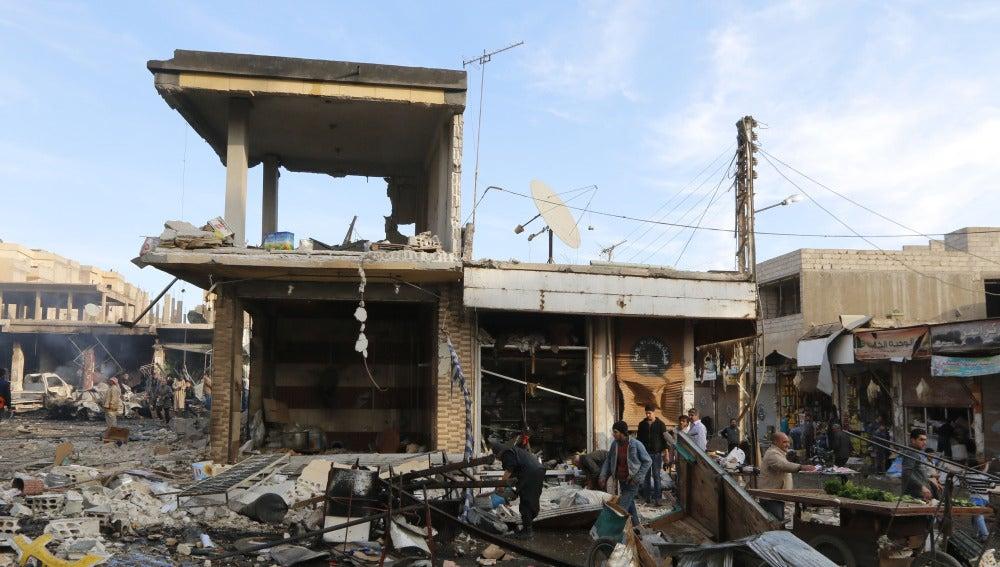 La ciudad siria de Raqqa