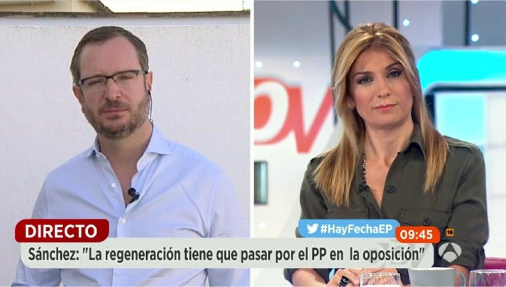 """Frame 222.38226 de: Maroto: """"Hay una persona que tiene la llave para que haya elecciones en Navidad y es Pedro Sánchez"""""""