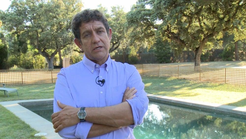 """Pedro Casablanc:""""Juan Rueda está derrotado y tiene que renacer de sus cenizas"""""""
