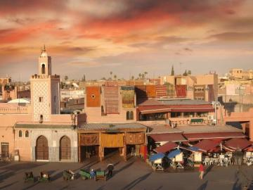 Ciudad de Marraquech.