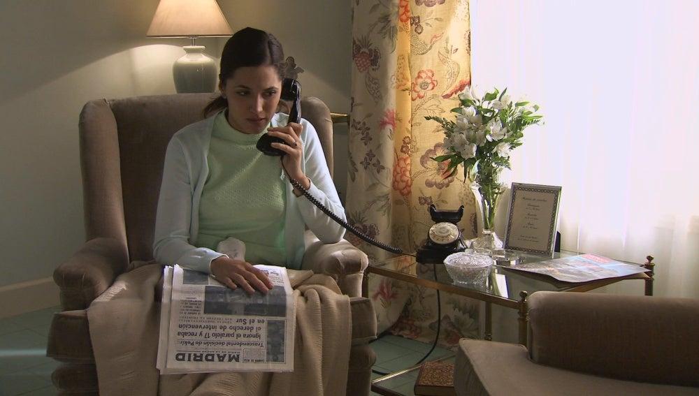 Sofía llama a su madre desde ¿Suiza?
