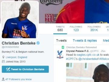 Benteke, 'jugador' del Burnley