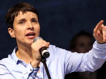 Frauke Petry, copresidenta de AfD.