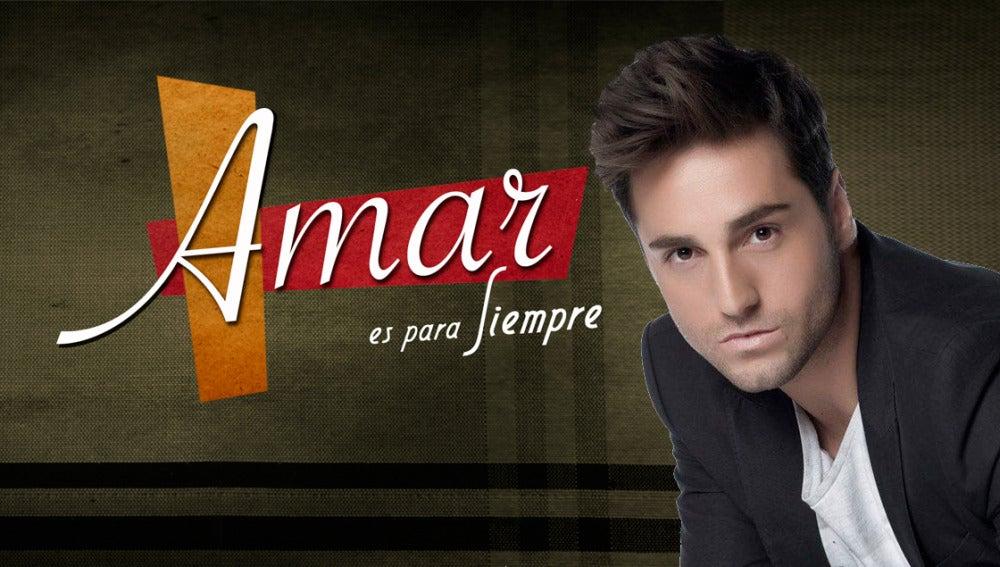 Bustamante interpreta el tema principal de 'Amar es para siempre'