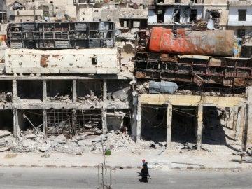 Destrucción en Alepo tras los últimos ataques