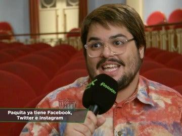 Frame 146.017626 de: El humor de 'Paquita Salas' conquista el Festival de Tarazona