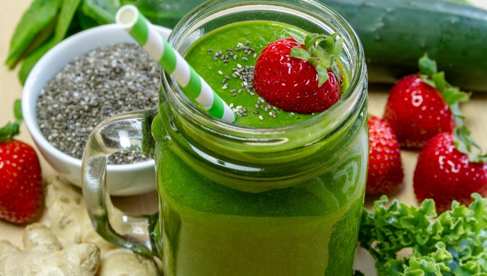 Nutritivos zumos de frutas y verduras