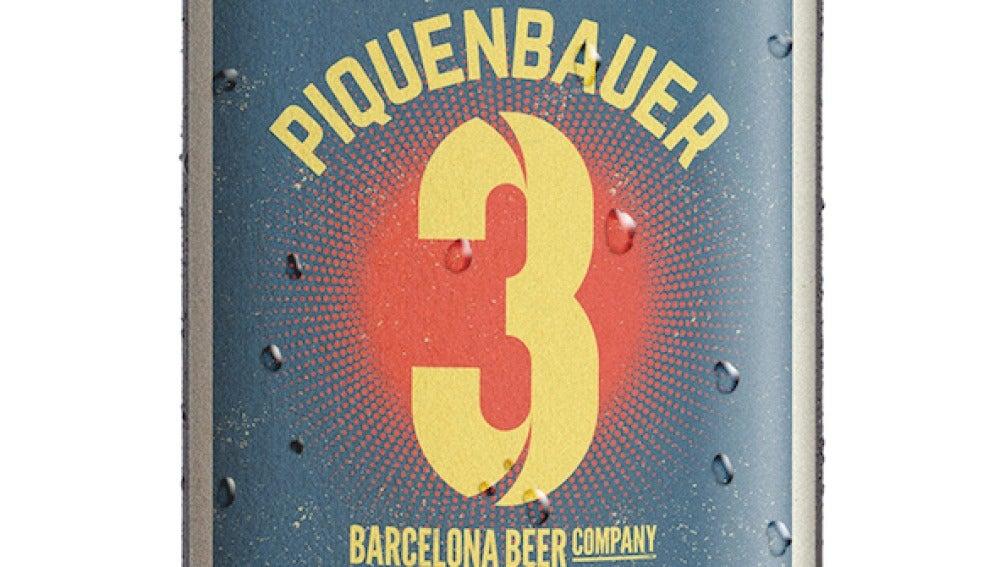 La cerveza de Piqué, fresquita como ella sola.