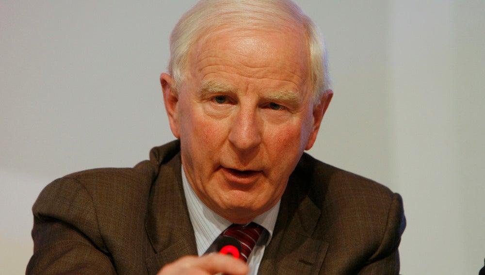 Patrick Hickey, durante una comparecencia
