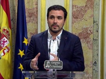 "Frame 7.661871 de: Alberto Garzón: ""propaganda continuista"" y ""chantaje"" al PSOE"