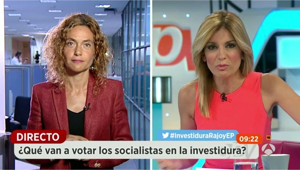 """Frame 162.319001 de: Meritxell Batet: """"Quien tiene paralizada la vida política en España es Rajoy"""""""